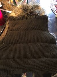Joe Fresh Faux Fur Vest (Medium)