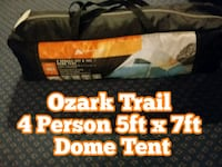 Ozark Trail 5ft x 7ft Dome Tent Norfolk, 23503