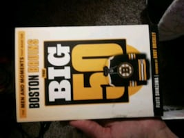 Brand new NHL Boston Bruins book