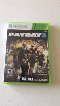 Xbox 360 payday 2 Bowmanville, L1C 2H5