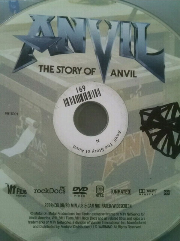 Anvil DVD
