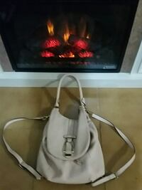 Genuine Leather Gilli bookbag/ purse
