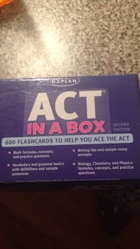 ACT flash cards Plymouth, 48170