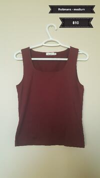 women's red tank top 3125 km