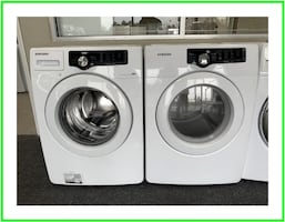 Samsung set washer and dryer