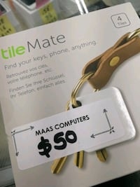 Tile mate 4 tiles brand new. Toronto, M9V 1L2