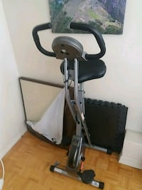 black and gray elliptical trainer Mississauga, L5G 1K2