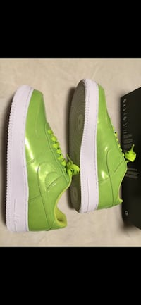 Nike Air Force 1 neon green size 10 men's new in box  Markham, L3S 3C3
