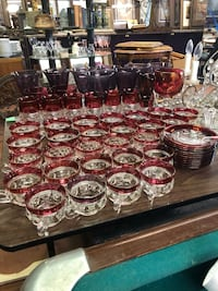 Glass cups and plates Fargo, 58102