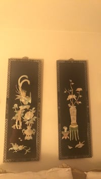 Asian wall hangings with Mother of Pearl Mahwah, 07430