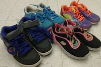 (138) NIKE, Saucony, Skechers shoes, size 12 kids, $10 each