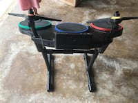 PS3 Guitar Hero drum set; bass pedal included (not pictured) Fort Worth, 76179