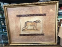 Cheetah Picture- Framed