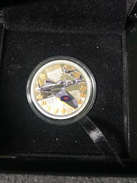 Spitfire coin 35/100 Mississauga, L5A