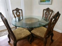 rectangular brown wooden table with six chairs dining set 52 km