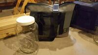 Insulated cooler bag with 2 glass gallon jars 615 mi