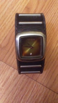 Nixon Watch with Leather strap Calgary