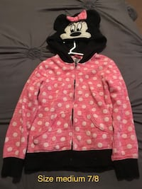 Minnie Mouse sweater size M 7/8