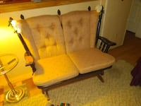 Two seater rocking chair