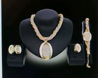 Fashion Lady's Plated 18k 4pc Jewelry Set Lewisville, 75067