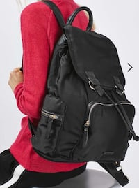 Top shop black backpack Richmond, V7A 2W1