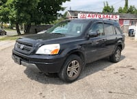 2005 Honda Pilot EX-L/Auto/Leather/Roof/7 Pass/AS IS Special Scarborough, ON M1J 3H5, Canada