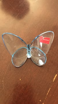 Baccarat  decorative glass butterfly figurine