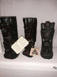 New Tiki Totems 6-8 inches $10 for All  Anchorage, 99508