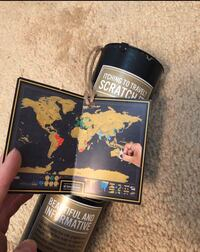 Scratch map - brand new never opened