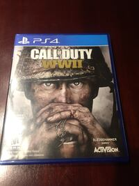 Call of Duty WW2 PS4 Game Pickering, L1V 1A8