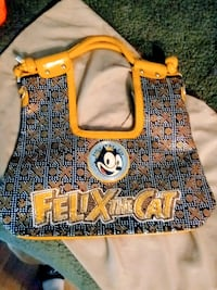 Black and yellow sequin Felix the Cat over the shoulder bag Fairfax, 22038
