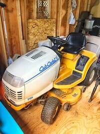 Yellow and black cub cadet riding mower Manchester, 17345