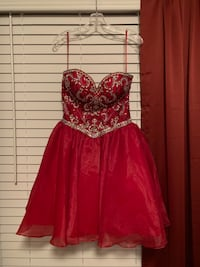 Formal Gown Size 8 Worn Once Great Condition!