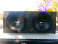 12inch pyle subs almost new Matthews, 30818