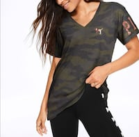 Victoria's Secret PINK Camo Bling Tee null, 36544
