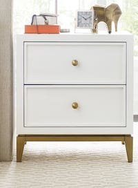 New 1 - 2 drawer nightstand