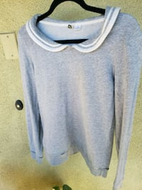 gray and white pullover hoodie Newport Beach, 92657
