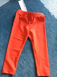 Toddler sz2 brand new leggings red Toronto, M5S 0A4