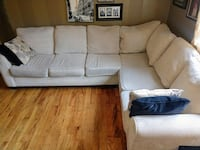 Large Cream Sectional Sofa Washington