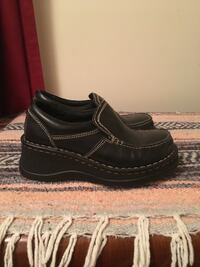 Black leather shoes Spring Pickering, L1V 3K1
