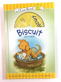Pls read ad*NEW-GIFTABLE HARD COVER & CD*My First I Can Read - Biscuit & Friends with Read Along CD