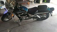 black and blue cruiser motorcycle Detroit, 48228
