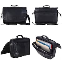 Brand New Kenneth Cole Reaction Leather Dual Compartment Flapover 16.0 Toronto, M1B 5J4