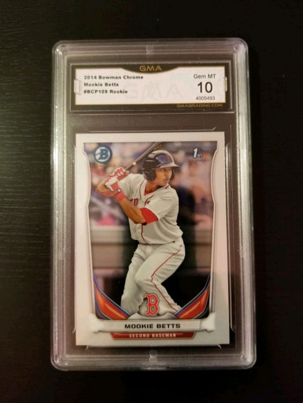 Mookie Betts Rookie Card