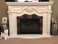 Off white electric fireplace Martinsburg, 25401