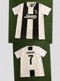 Juventus # 7 Ronaldo soccer Jersey Sublimated Adult L and 2 XL. New Miami, 33187