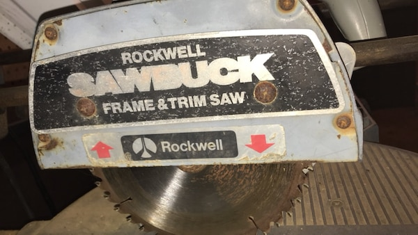 Outstanding Rockwell Sawbuck Frame And Trim Saw Download Free Architecture Designs Scobabritishbridgeorg