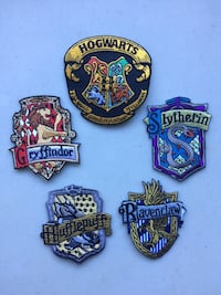 Hogwarts patches