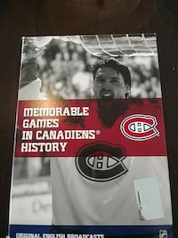 NHL MONTREAL CANADIENS MEMORABLE GAMES DVD SET Pickering, L1V 3V7