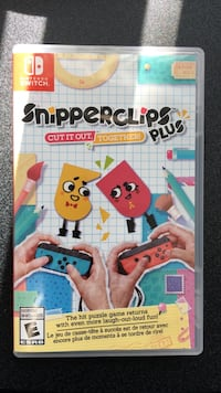 Nintendo Switch snipperclips plus Montréal, H2R 2W1